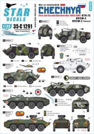 War in Caucasus Part 5: 1st and 2nd Chechen War 1994-2009. Soviet BTR-70, BRDM-2 & BRDM-2 'Konkurs' #SRD35C1291