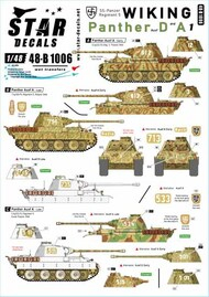 Star Decals  1/48 Wiking Part 1: Panther Ausf.A and Ausf.D SRD48B1006