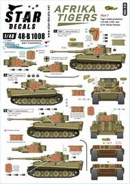 Star Decals  1/48 Afrika Tigers Part 1 SRD48B1008