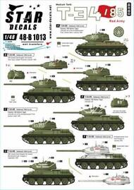 Star Decals  1/48 T-34/85 Red Army SRD48B1013