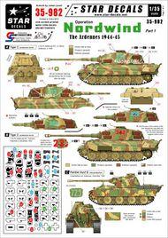 Op Nordwind #1. German Tanks in Ardennes #SRD35982
