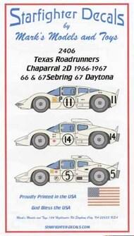 Texas Roadrunners Chaparral 2D Sebring/Daytona 1966-1967 for FJM #SFA2406