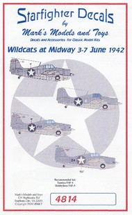 F4F-3/4 Wildcats Battle of Midway for TAM & HBO #SFA4814