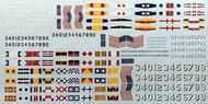Starfighter Decals  1/700 USN Warship Decals SFA71027