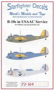 B-10s in USAAC Service #SFA72164
