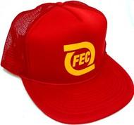 STEVENS HATS   N/A Florida East Coast Baseball Cap (Red) HAT21