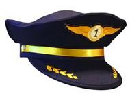 STEVENS HATS   N/A Airline Pilot Junior Size Cap HAT62