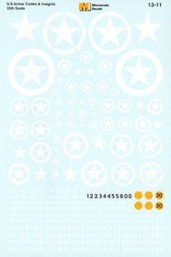 Super Scale Decals  1/35 U.S. Armour Codes & Insignia 1:35 SSI13011