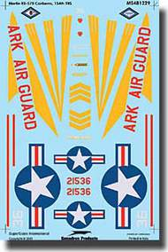 Super Scale Decals  1/48 RB-57B Canberra SSI481229