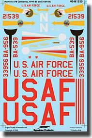 Super Scale Decals  1/48 B-57Bs Canberra SSI481230