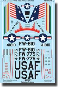 Super Scale Decals  1/48 North American F-100C SSI481246