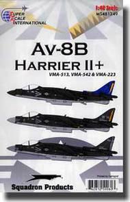 Super Scale Decals  1/48 AV-8B Harrier II Plus SSI481249