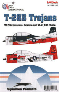 Super Scale Decals  1/48 T-28B Trojans: BuNo 138155 of VT-2 US Bicente SSI481262