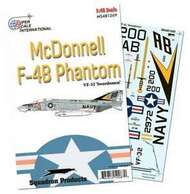 Super Scale Decals  1/48 F-4B of VF-32 'Swordsmen' SSI481269
