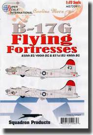 Super Scale Decals  1/72 B-17G Flying Fortress SSI720911