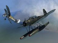 Arado Ar.196A-2 Versus Sea Gladiator Seaplane over Norway (2 in 1) #SRT72120