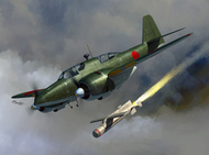 Kawasaki Ki-102a Randy and I-Go rockets #SRT72125