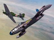 Lockheed P-80C vs Ilyushin IL-10 over Korea 2 in 1 series #SRT72128