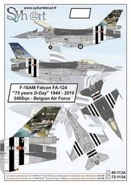 General-Dynamics F-16AM Falcon FA-124 #SY48113A