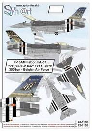 The General-Dynamics F-16AM Falcon FA-57 #SY48113B