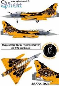 Dassault Mirage 2000C 103-LI Tigermeet 2010 #SY72063
