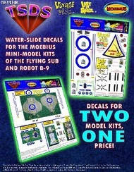TSDS  1/128 Mini Flying Sub & LiS Robot Decal Set for MOE TDS103