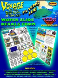 TSDS  1/32 Flying Sub Decal Set for MOE TDS105