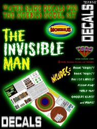 TSDS  1/8 Invisible Man Decal Set for MOE TDS107