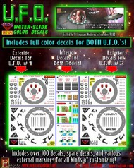TSDS  1/32 Alpha Centauri UFO Decal Set for PGH TDS120