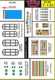 TSDS  1/60 Vintage Flying Sub Decal Set for Aurora/Monogram TDS132