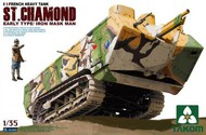 Takom  1/35 French St. Chamond Early Type Heavy Tank (D) TAO2002
