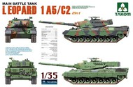 Takom  1/35 Leopard 1 A5/C2 Main Battle Tank (2 in 1) (D) TAO2004