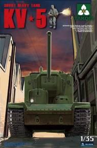 Takom  1/35 Soviet KV-5 Super Heavy Tank w/Figure TAO2006