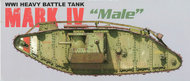 Takom  1/35 British MK.IV Male Heavy Tank TAO2008