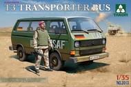Takom  1/35 Bundeswehr T3 Transporter Bus w/Figure (D) TAO2013