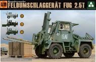 Takom  1/35 Bundeswehr Feldumschlaggerat FUG 2.5-Ton Forklift Truck (4 in 1) TAO2021