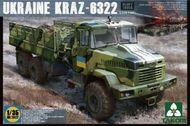Takom  1/35 Ukrainian KrAZ 6322 6 X 6 1:35 TAO2022