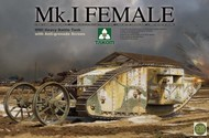 Takom  1/35 WWI Mk I Female Heavy Battle Tank w/Anti-Grenade Screen TAO2033