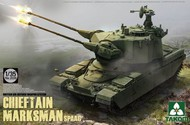 Takom  1/35 British Air-Defense Weapons System Chieftain Marksman SPAAG Tank TAO2039