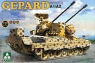Takom  1/35 Gepard SPAAG A1/A2 Bundeswehr FlakPz I Tank (2 in 1) TAO2044