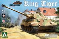 Takom  1/35 WWII German King Tiger Sd.Kfz 182 Porsche Turret Heavy Tank w/Interior TAO2074