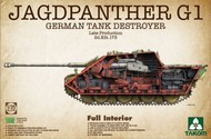 Jagdpanther G1 Late Production Sd.Kfz. 173 German tank Destroyer w/Full Interior (New Tool) #TAO2106