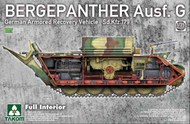 BergePanther Ausf.G German Armored Recovery Vehicle [Full Interior Kit] #TAO2107