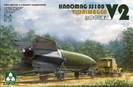 WWII German V2 Vidalwagen Hanomag SS100 Rocket Transporter #TAO2110