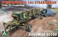Stratenwerth 16t Strabokran Heavy Crane 1944/45 Production & Hanomag SS100 Transporter #TAO2124