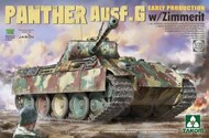 Panther Ausf G Early Production Tank w/Zimmerit #TAO2134