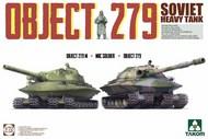 Soviet Heavy Tank Object 279 + Object 279M + NBC Soldier Figure #TAO5005