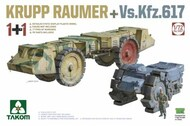 Krupp Raumer & VsKfz617 Mine Clearing Vehicles - Pre-Order Item #TAO5007