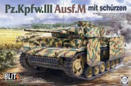 Pz.Kpfw.III Ausf M Tank w/Side-Skirt Armor #TAO8002