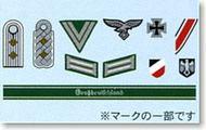 German Military Insignia Decal Set (1/16  1/35) #TAM12625